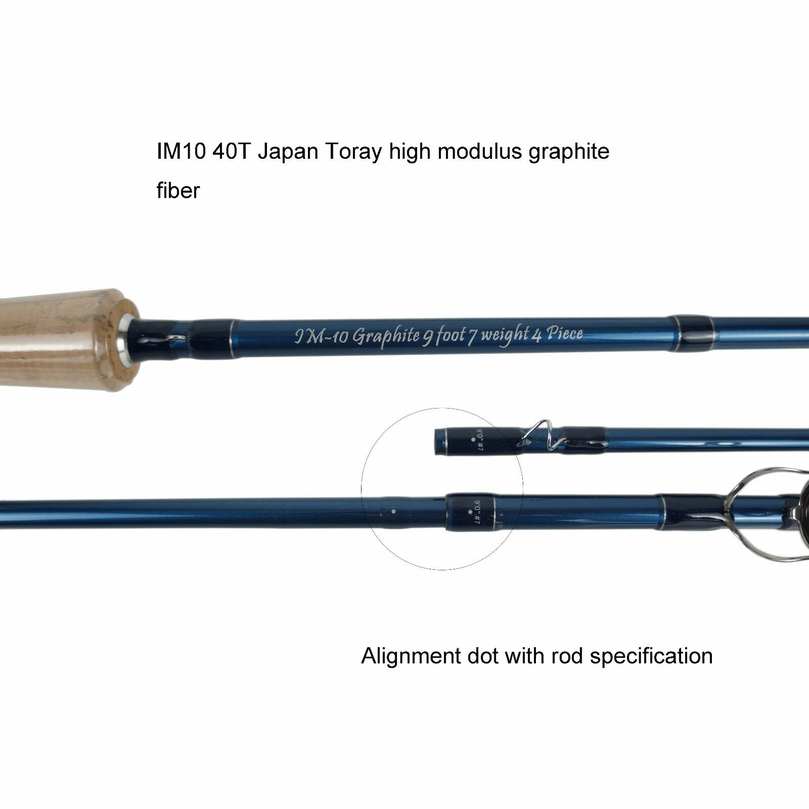 Aventik Fly Fishing Rods IM10 Carbon 4sec Tip Fast Action Action Action Saltwater Fly Rods 420d0f