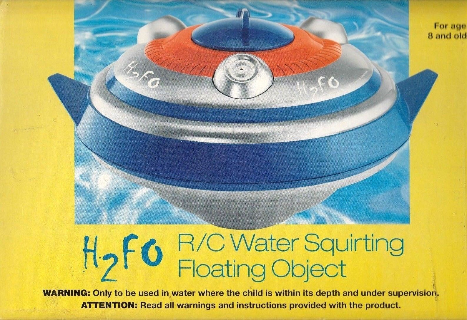Sharper Image h2fo RC Water Squirting Floating Object