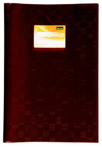 braun Farbe Hefthüllen DIN A4 Baststruktur 10 Heftumschläge