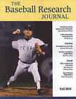 Baseball Research Journal (BRJ): Volume 39 & No. 2 by Society for American Baseball Research (Paperback, 2011)