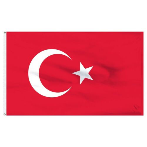 5x8 ft Turkey Flag Rough Tex Knitted 5/'x8/' banner
