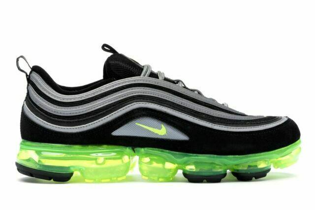Size 10.5 - Nike Air VaporMax 97 Neon, Volt 2018