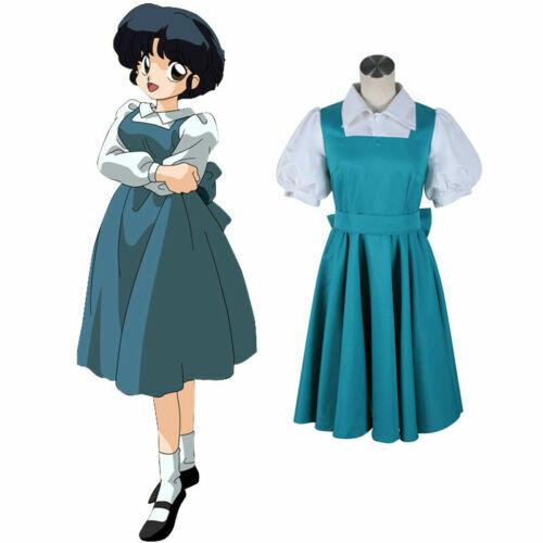 Details about  /Akane Tendo Akane Outfit Dress Anime Manga Cosplay Costume