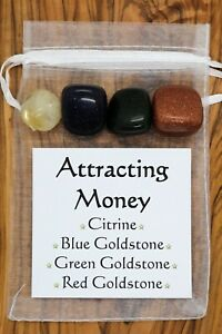 Attracting-Money-Crystal-Gift-Set-Citrine-Blue-Red-Green-Goldstone-Wealth-Riches