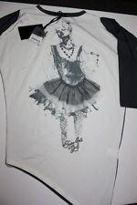TWIN-SET GIRL Tunica storto ballerina Strasse fuori uso 128 NUOVO 92,95 e (1)