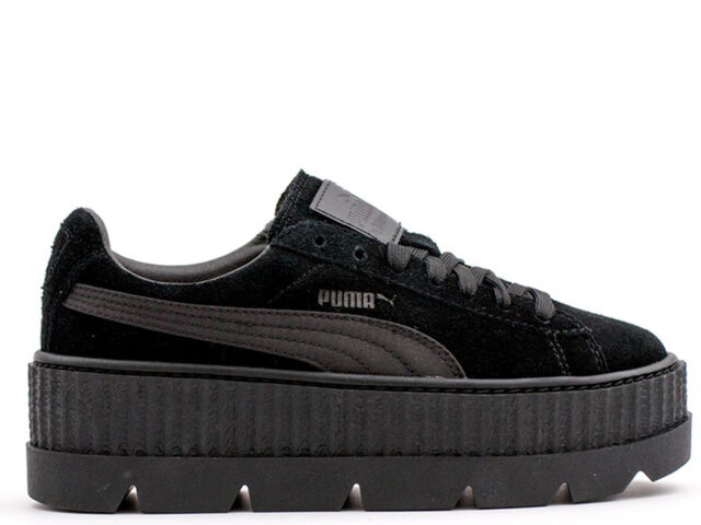 to buy f5d21 ceaab PUMA Womens Fenty by Rihanna Black Cleated Creeper 36626804 SNEAKERS Shoes  8.5