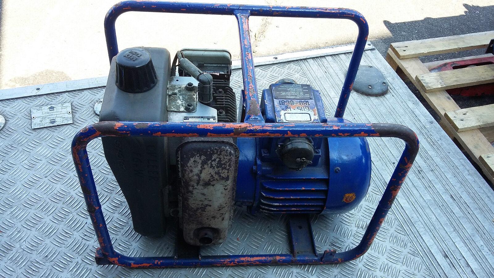 Bosch Bosch Bosch BWKA 2- Stromerzeuger-Sachs Stamo151-2-Takt-Motor 230 V THW/ Feuerwehr 0b5fb1