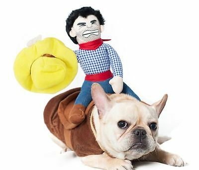 Dog Costume Clothing Riding Horse Rodeo Cowboy Costumes
