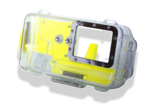 Nautismart Pro iPhone and Android Scuba Diving Phone 60m Underwater Yellow Case