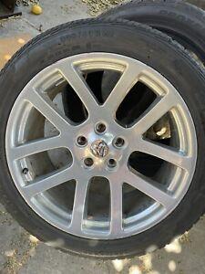 Dodge Ram SRT-10 Viper Wheel 22x10 Rim Light Curb Rash Silver Grey Free Shipping
