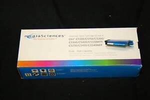 Media-Sciences-MS5000C-42127403-Cyan-High-Yield-Toner
