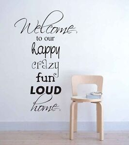 Image is loading Wall-stickers-Playroom-Rules-crazy-home-Decal-Removable-  sc 1 st  eBay & Wall stickers Playroom Rules crazy home Decal Removable Art Vinyl ...