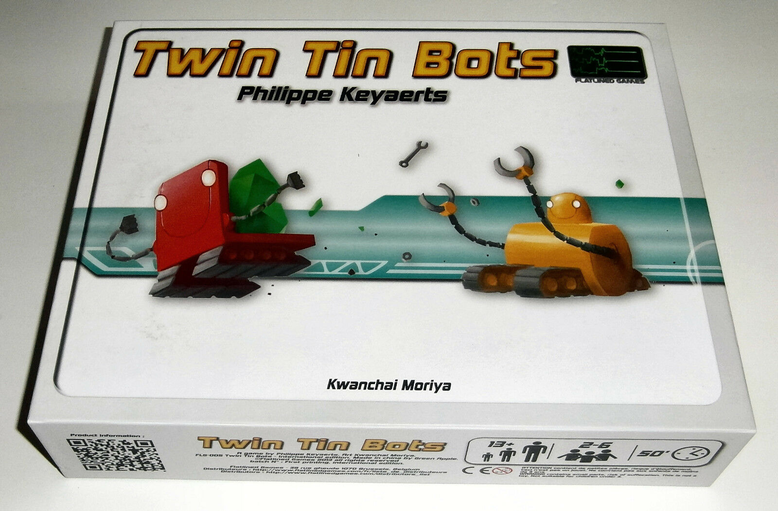 Twin Tin Bots - Flatlined Games - 2013
