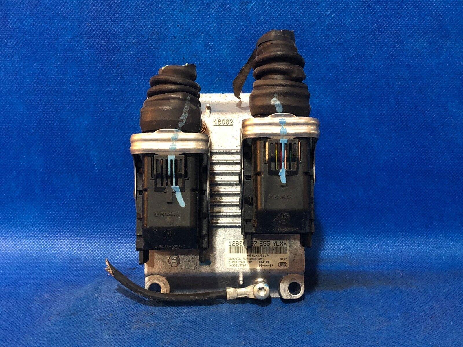 07 Cadillac Cts Srx Ecu Engine Computer Pcm Ecm 12600797 Ylxx Lt1 Wiring Harness Ebay 0261209182