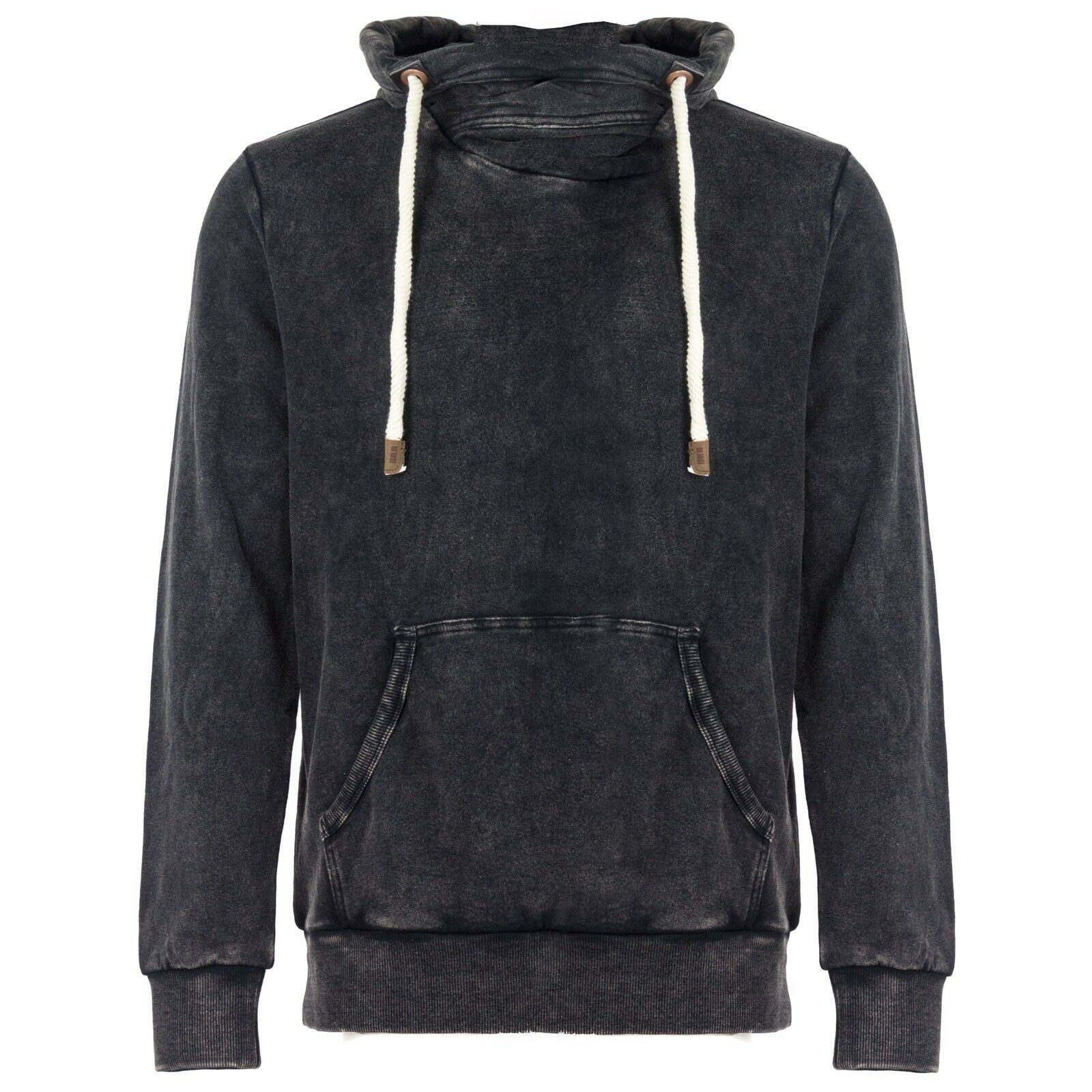 Solid Herren Sweatshirt Pullover Pulli Sweat Kapuze Vintage Look Kapuzenpulli