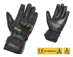 502034-S-Women-039-s-Gloves-034-le-Mans-Lady-034-Ce-Long-Leather-Black-SIZE-S