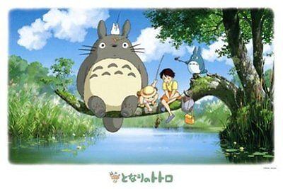 Ghibli My Neighbor Totoro Jigsaw Puzzle Fishing 1000 P (50 x 75 cm) Japan