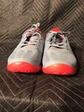 Nike Kobe KB Mentality Basketball Shoes Dove Grey Univ. Red 704942-007 Sz 13 082b02876db7
