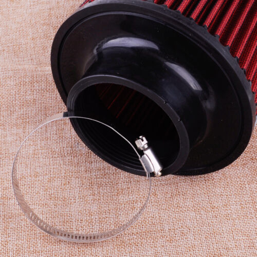 Universal Flow Trunk Racing Cold Air Inlet Intake Filter Tapered Cone Cleaner