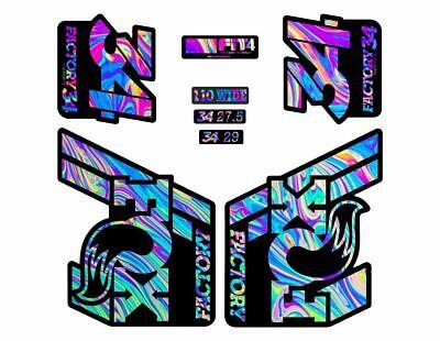 FOX 36 Rhythm 2019 Forks Suspension Factory Decal Sticker Adhesive Oil Slick