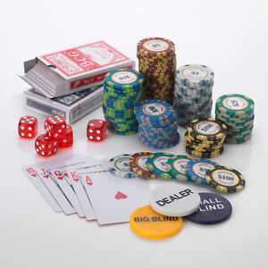 Image Is Loading Monte Carlo Poker Chips Set 14g 500 Piece