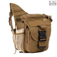 Molle Tactical Dslr Camera Shoulder Pouch Waist Pack Travel Military Hip Bag Usa