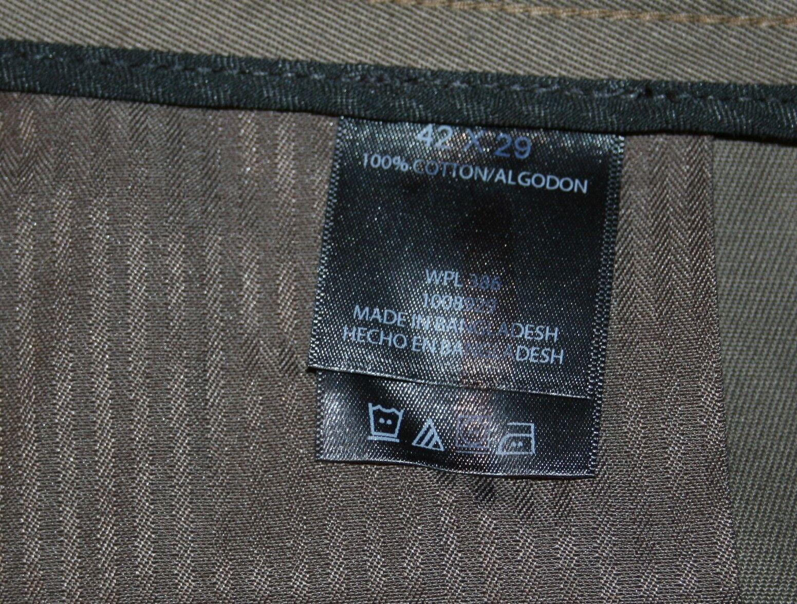 Haggar H26 Komfort Größe Hose Sz 43 43 43 X 29 Braun Herren Nwt Neu Kleid Glatt Vorne | Online Shop  | Auf Verkauf  | New Style  | Outlet Store  | Kaufen Sie beruhigt und glücklich spielen  2a1abd