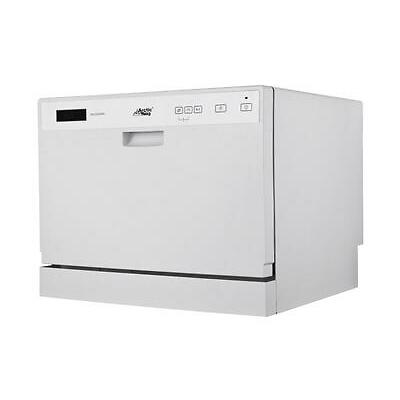 New Portable Compact Midea Arctic King ADC3203D Countertop Dishwasher, White