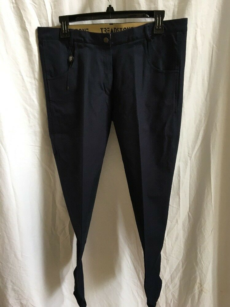 Ladies Breeches Treadstone Knee Patch  Isabel 34R Navy  NWT  get the latest