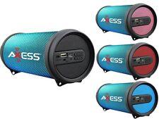 Axess SPBL1043 Hi-Fi Cylinder Speaker +Bluetooth +USB/SD/FM/AUX +Disco LED Light