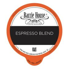 Barrie House Espresso Blend Value Pack Capsules 80 ct K-cups