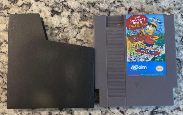 Bart vs. The Space Mutants — NES Nintendo Original Authentic The Simpson's Game