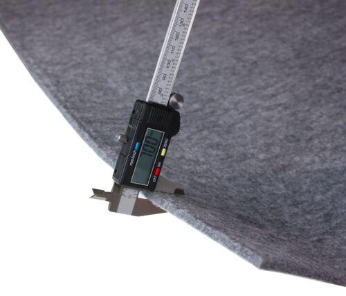 750 g pesados de 0 mm Gris fieltro metros de fieltro el 100x150cm 7 m2