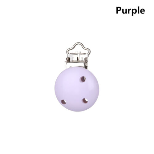 Infant Feeding Gifts Nipple Holder Baby Pacifier Clip Teether Holder Wooden