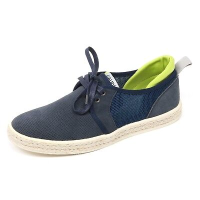 Uomo B5743 scarpa classica PEREGO SHOES blu shoe man