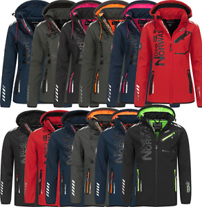 Geographical Norway Softshell Jacke FVSB Damen Herren Regen Übergangs Winter
