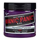"NEW MANIC PANIC ""ULTRA VIOLET"" CLASSIC SEMI-PERMANENT VEGAN HAIR DYE COLOR 4 OZ"