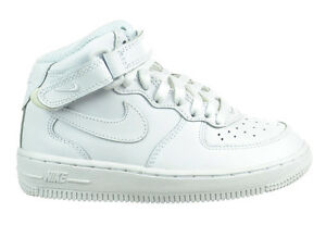 best loved 506de c7459 Image is loading Nike-Air-Force-1-Mid-PS-Preschool-Kids-