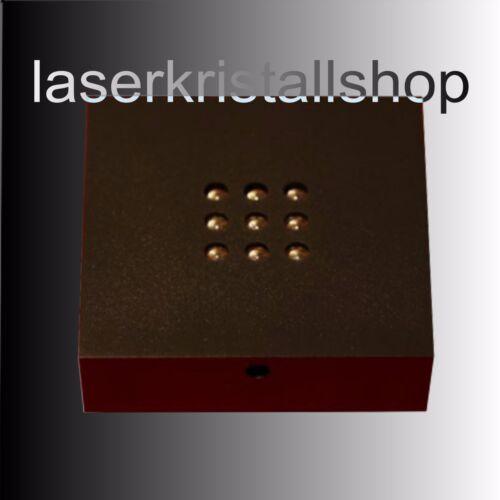 Denker// Leuchtsockel NEU.Hologramm 3D Laserkristall
