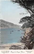 Spain Costa Brava Bagur Playa de Aigua Blava, Barcos, Granes Palafrugell
