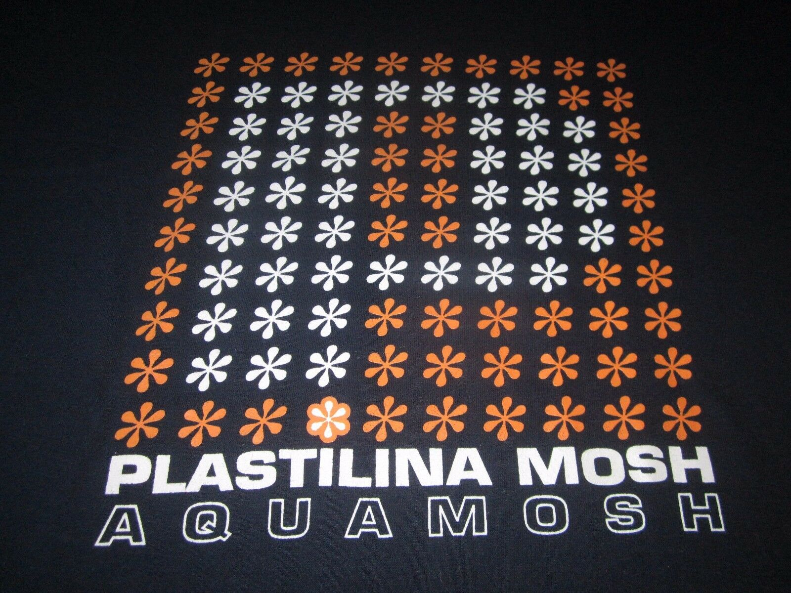 PLASTILINA MOSH AQUAMOSH RARE 90S VINTAGE TEE SHIRT LARGE UNUSED 90S ALTRNATIVE