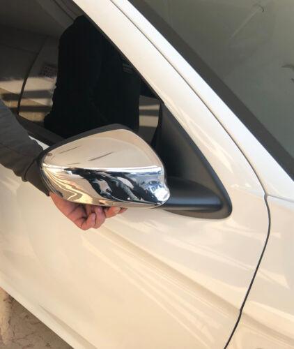 PEUGEOT 301 2012 in poi Copertura Specchio Cromata 2 pezzi in acciaio inox