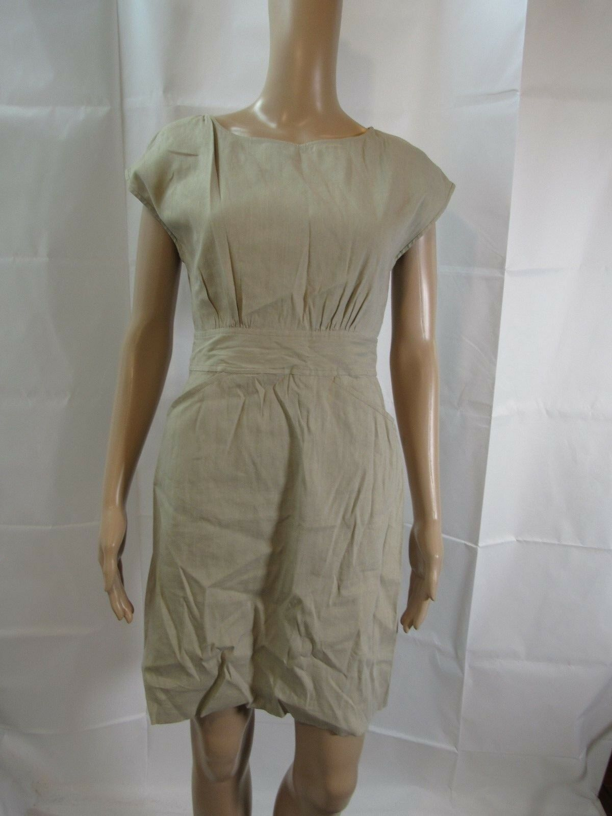 Theory Sleeveless Tan Dress Size 2