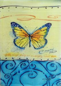 """Monarch Butterfly Garden Flag by Toland, 12.5"""" x 18"""",  #1328"""
