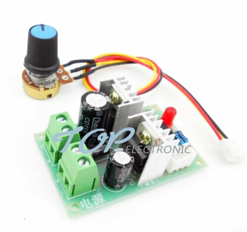 12V-36V Pulse Width PWM DC MotorSpeed Regulator Controller Switch 12V 24V 3A S60