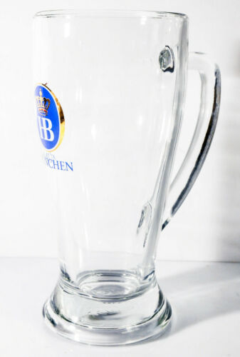 "Bierkrug 0,5l /""Baviera/"" 67cl Bauchiger Bierseidel Hofbräu Bier München"