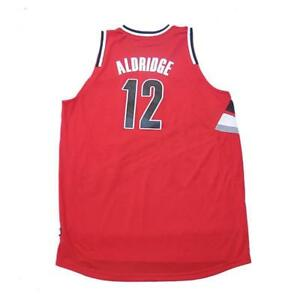 release date: 1808d 1864f Details about New NBA Portland Trail Blazers Lamarcus Aldridge #12 Jersey  Red Large 2XL