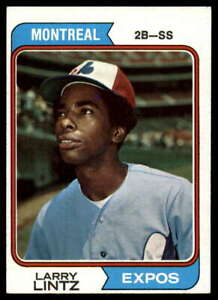 1974-Topps-121-Larry-Lintz-Expos-VG-Very-Good-RC-Rookie-Card