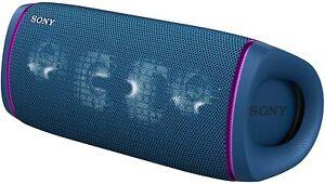 Sony SRS-XB43 Portable Rechargeable Waterproof Bluetooth Speaker - Blue