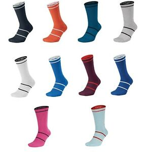slank 100% autentisk fabrikspris Details about New Nike Court Essential Tennis Crew Dri-Fit Socks Large  SX6913 Rafa Federer L/R